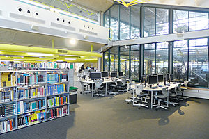 Library study space